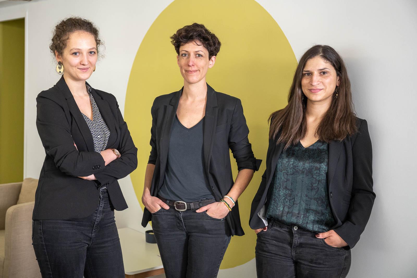 Anne-Laure Bellanger et Anaïs Mariette